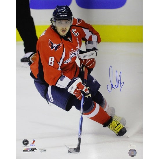 80ab9e83ecf Shop Alex Ovechkin Autographed Washington Capitals 16x20 Photo Red Vertical  JSA - Free Shipping Today - Overstock - 20256133
