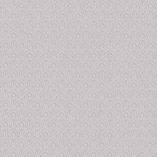 Brewster 495-69035 Wren Silver Peacock Ogee Wallpaper