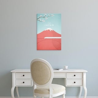 Easy Art Prints Henry Rivers's 'Japan' Premium Canvas Art