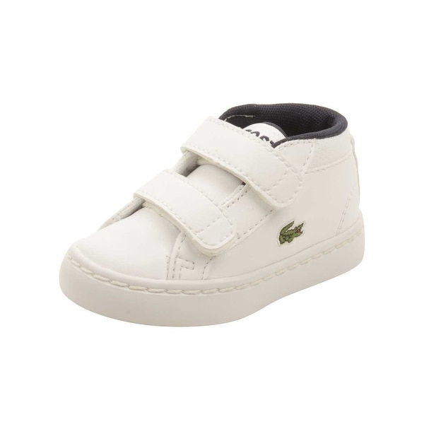 843618d67 Shop Lacoste Infant Straightset Chukka 316 Sneakers in White - Free  Shipping Today - Overstock.com - 16418557
