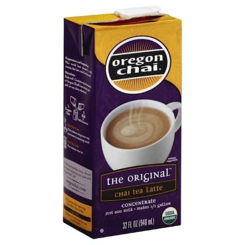 Oregon Chai The Original Concentrate Chai Tea Latte, 32 Fo (Pack of 6)