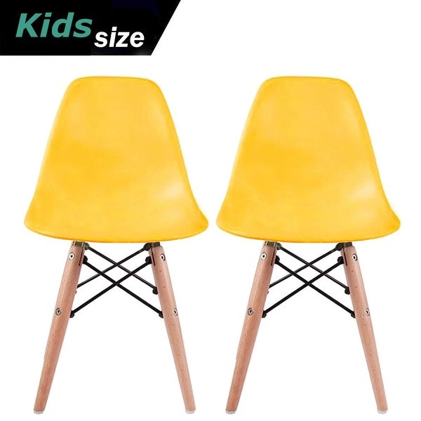 Children Eiffel Style White Table With 2 White Eiffel Style Plastic Chairs Set For Kids