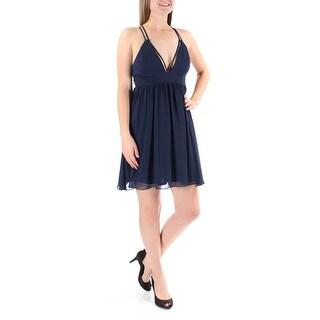 JUMP $69 Womens 1316 Navy Sleeveless Sheath Dress Juniors 5 B+B