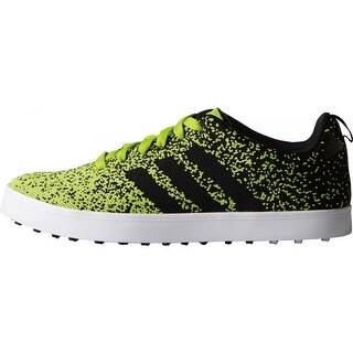 Adidas Men's Adicross Primeknit Solar Slime/Black/White Golf Shoes F33352 (More options available)