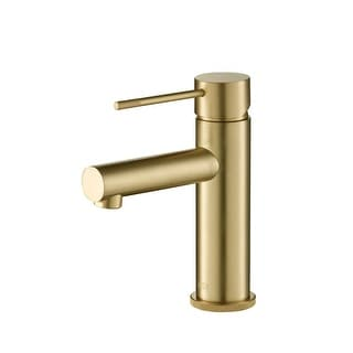 Link to Lead Free Solid Brass Single Handle Bathroom Vanity Sink Faucet with Water Hose Similar Items in Faucets
