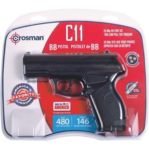 Crosman C02 Powered Bb Pistol C11 Unit: EACH
