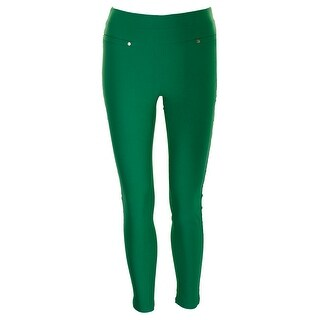 Xoxo Juniors Green Colored Pull-On Skinny Pants