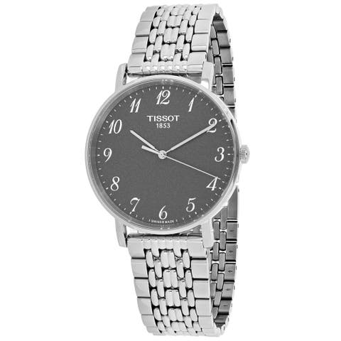 Tissot Men's T-Classic Gray Dial Watch - T1094101107200 - One Size