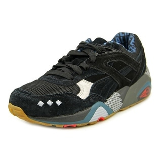 Puma x Alife R698 Youth Round Toe Suede Black Sneakers