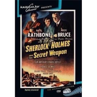 Sherlock Holmes: Secret Weapon DVD Movie 1943