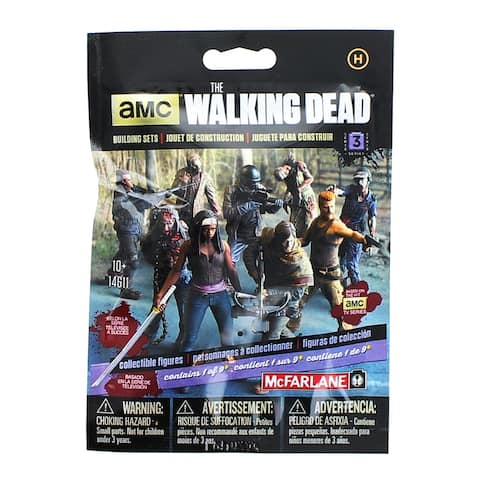 The Walking Dead TV Blind Bag Series 3 Construction Figures, Humans - multi