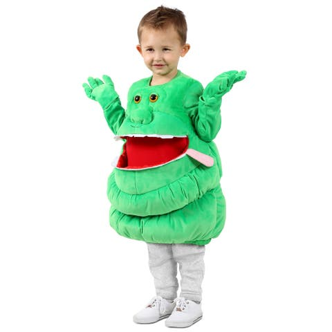 Princess Paradise Ghostbusters Feed Me Slimer Toddler/Child Costume - Green