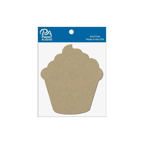 Chip Shape 8pc Cupcake Natural