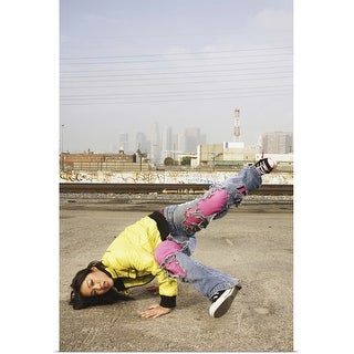"""Break dancer"" Poster Print"