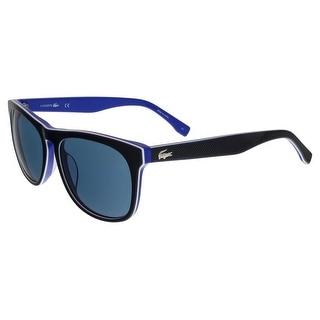 Lacoste L818/S 424 Blue Wayfarer sunglasses Sunglasses