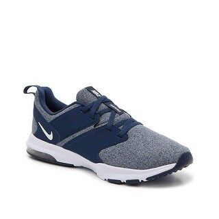 Nike Women's Air Bella Navy/White-Wolf Grey Training Shoes (9.5)