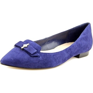 Cole Haan Saville Skimmer Pointed Toe Suede Flats