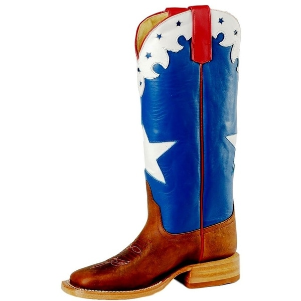 dfea303c9dc Anderson Bean Western Boots Boys Cowboy Leather American Star