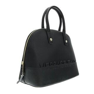 Versace EE1VOBBO5 E899 Black/Gold Satchel - 14.5-11-6