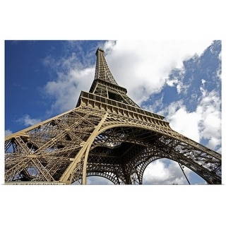 """""""Eiffel Tower on sunny day"""" Poster Print"""