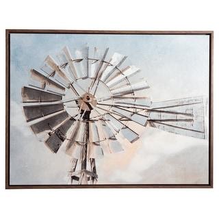 Ashley Furniture Elvi Windmill Design Wall Art A8000159