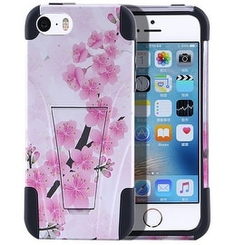Insten Pink/ White Cherry Blossom Hard Snap-on Rubberized Matte Case Cover For Samsung Galaxy S7