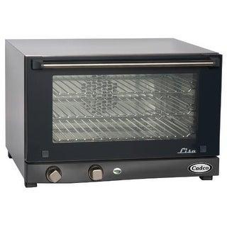 Cadco - OV-013 - Compact Half Size Countertop Convection Oven