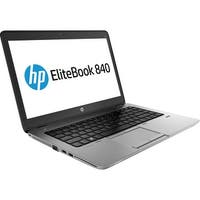 "HP EliteBook 840 G1 14.0"" Standard Refurb Laptop - Intel i5 4300U 4th Gen 1.9 GHz 8GB 256GB SSD Win 10 Pro - Webcam, Bluetooth"