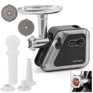 Della 2000W Electric Meat Grinder 2-Speed, Reversible, w/ Blades & Kubbe Attachment Set, 2.5HP