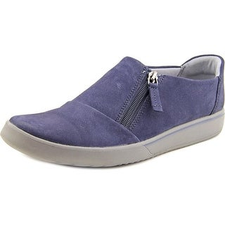 Clarks Penwick Molto Women Round Toe Leather Blue Loafer