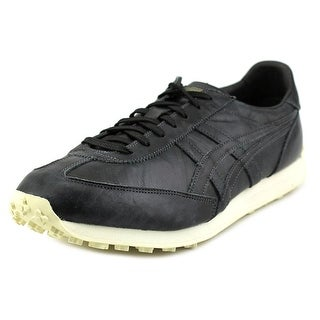 Onitsuka Tiger by Asics EDR 78 Women Round Toe Leather Black Sneakers