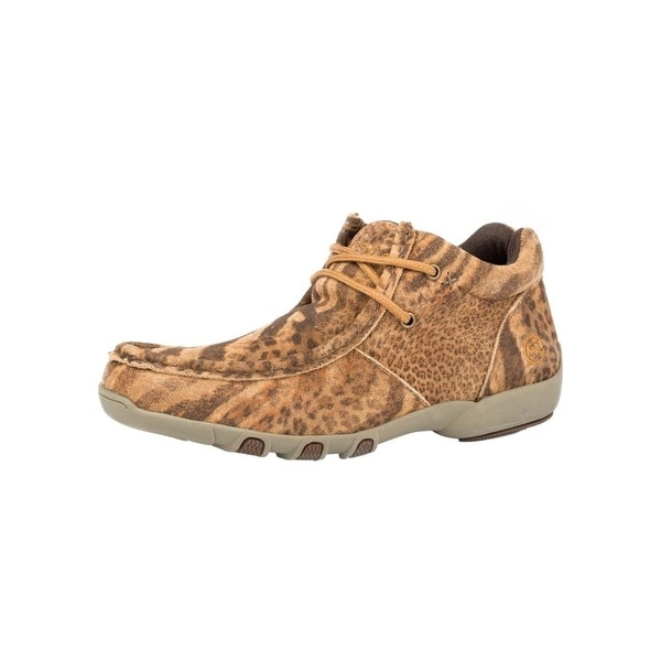 Roper Western Shoes Womens High Country Cassie Tan