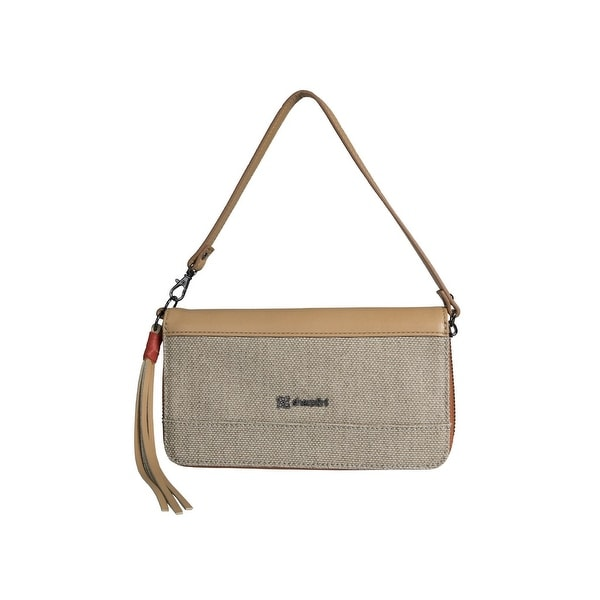 "Sherpani Handbag Women American Ethos Cotton Micro Fiber Zipper - 7.5"" x 4.25"" x 1"""