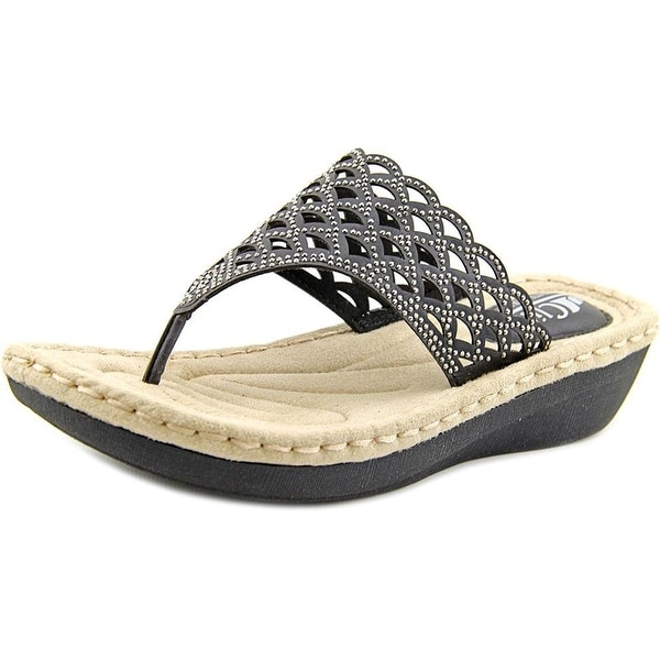 7fa9c8063601 Shop Cliffs by White Mountain Womens Cameo Split Toe Casual T-Strap ...
