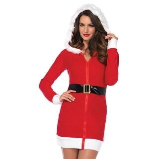 Cozy Santa Costume, Hoty Santa Costume - Red/White