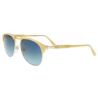 Persol PO8649S 1046S3 Honey/Cream Rectangle Sunglasses - 53-18-145
