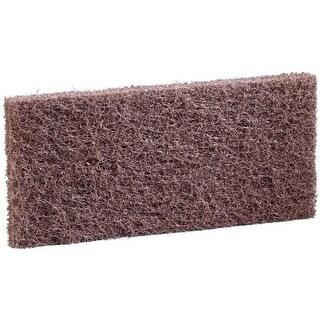 3M Abrasive 405-048011-08004 Doodlebug Brown Scrub n Strip Pad