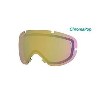Smith Optics I/OS Ski Goggle - Replacement Lens - ChromaPop Storm Yellow Flash - IS7CPY2