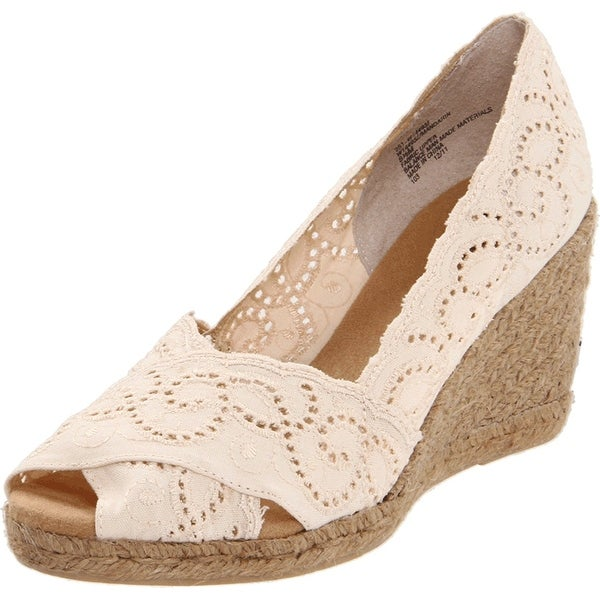 White Mountain Women's Mandarin Espadrille Pump