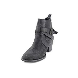 Cheap Shellys London Spalenka Round Toe Leather Black Bootie For Women Selling Well