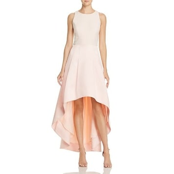 f92963ceccd1 Shop Women's Eliza J High/low Gown, Blush, 14 - Free Shipping Today -  Overstock - 20657231