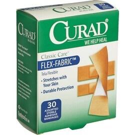Curad 30Ct Asrt Flex Bandage