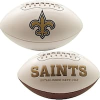 New Orleans Saints Embroidered Logo Signature Series Football