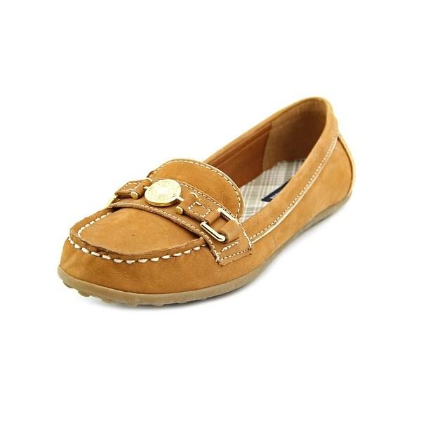 Tommy Hilfiger Elsie 2 Women Moc Toe Leather Tan Loafer