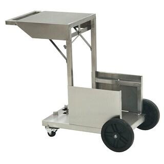 Bayou Classic 700-185 4 Gallon Deep Fryer Accessory Cart - Stainless Steel