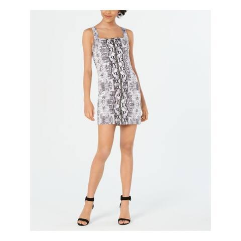 BAR III White Sleeveless Mini Dress 12