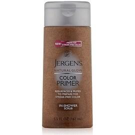 Jergens Natural Glow Color Primer In-Shower Scrub 5.50 oz