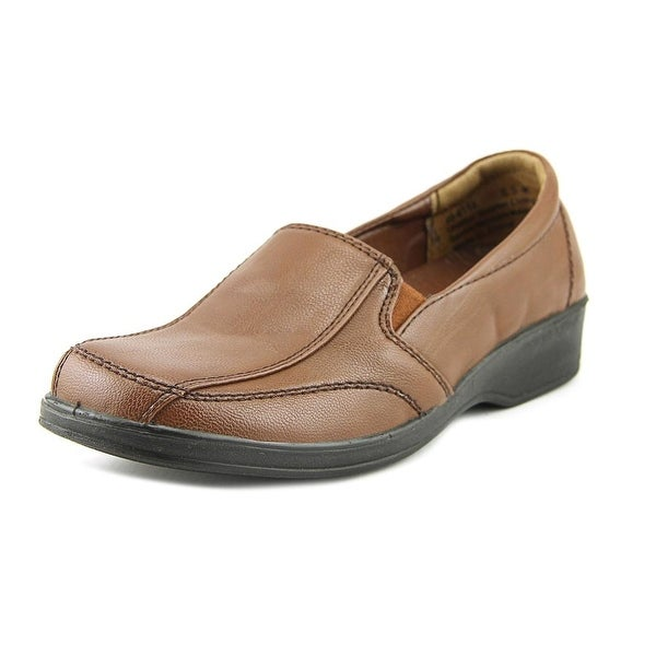 Easy Street Promise Women Round Toe Synthetic Tan Loafer