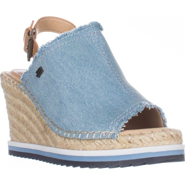 8ef8ccca214e Shop Tommy Hilfiger Yolanda Wedge Espadrille Sandals