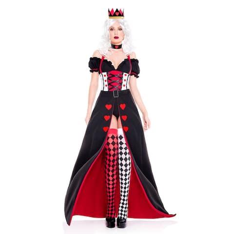 fffd75bda08 Enchanting Royal Heart Queen Costume - As Shown
